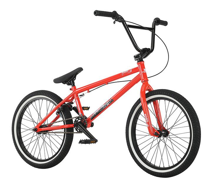 BICICLETA BMX HARO DOWN TOWN RED