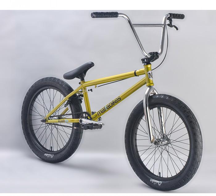 BICICLETA BMX MAFIABIKES KUSH2+ GOLD 20.4″