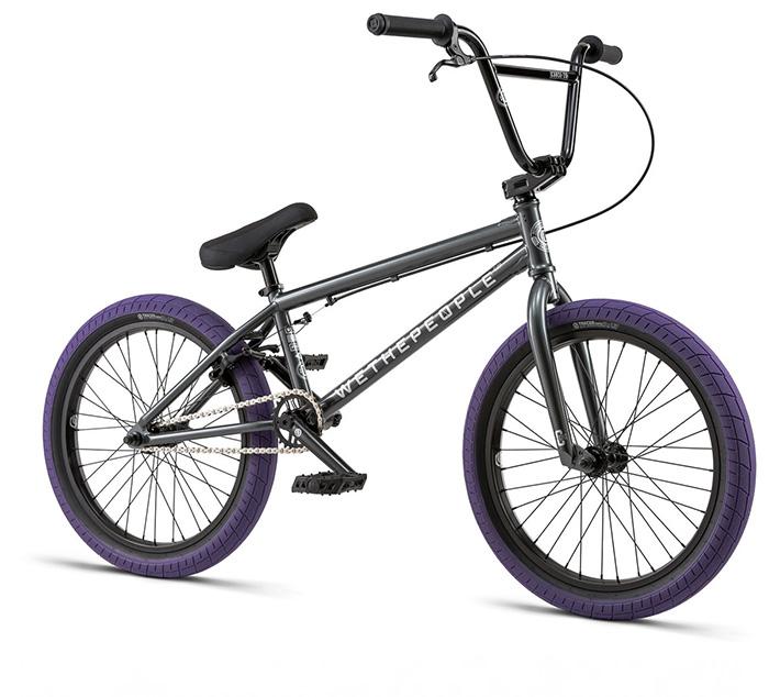 BICICLETA BMX WTP CURSE GRIS 20.25″