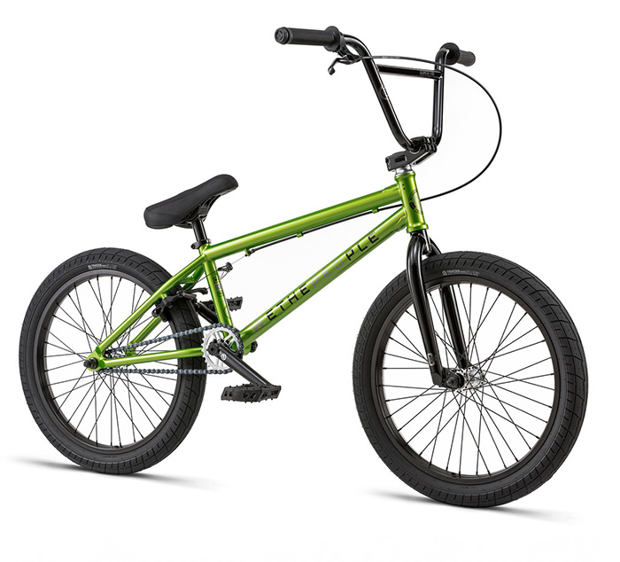 BICICLETA BMX WTP CURSE VERDE 20.25″