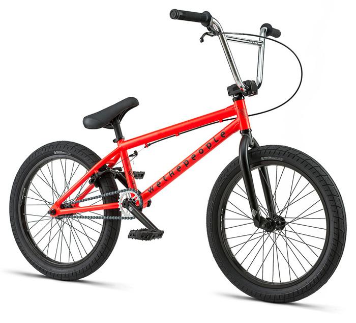 BICICLETA BMX WTP NOVA ROJA 20″