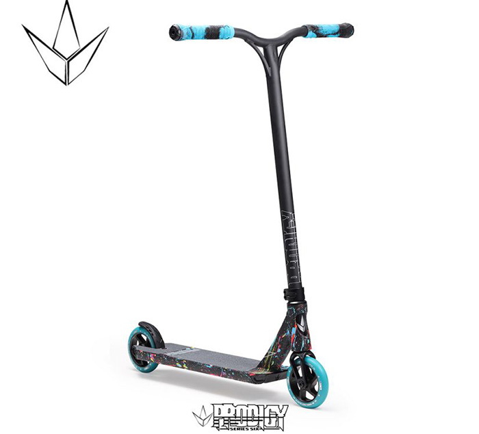 SCOOTER COMPLETO BLUNT PRODIGY S6 SPLATTER