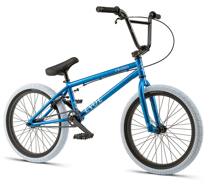 BICICLETA BMX RADIO EVOL AZUL 20.3″