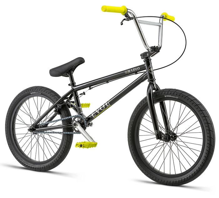 BICICLETA BMX RADIO EVOL NEGRA 20.3″