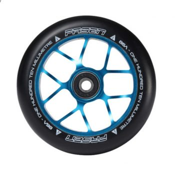 RUEDA SCOOTER FASEN  WHELL JET TEAL 110MM