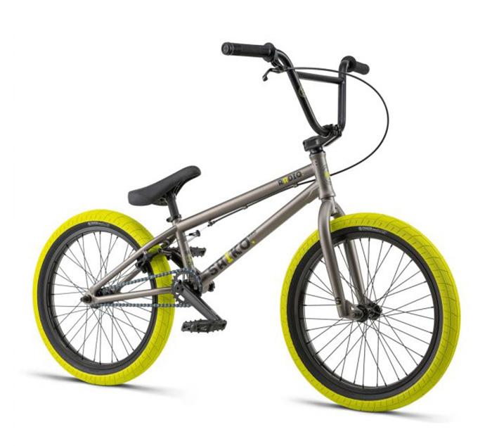 BICICLETA BMX RADIO SAIKO 19,25″ GRIS