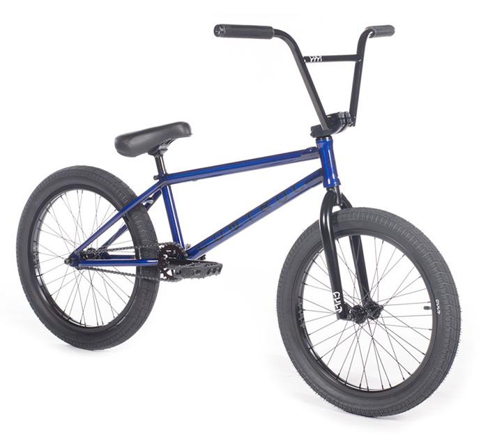 BICICLETA BMX CULT CONTROL AZUL 20,75″