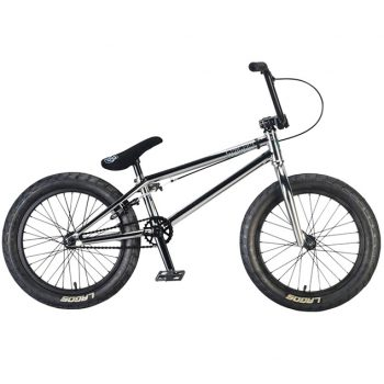 BICICLETA BMX MAFIA BIKES MADMAIN 18″ CROMADA