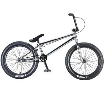 BICICLETA BMX MAFIA BIKES MADMAIN CROMADA 20.4″