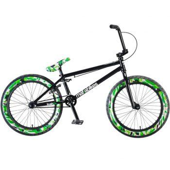 BICICLETA BMX MAFIA BIKES KUS2+ NEGRA CAMU 20.4″