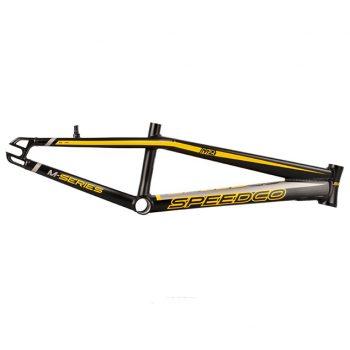 CUADRO BMX SPEEDCO M2 NEGRO/AMARILLO