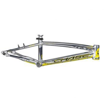 CUADRO BMX CHASE RSP 4.0 PLATA AMARILLO