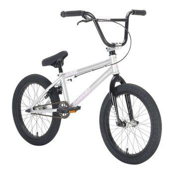 BICICLETA BMX ACADEMY INSPIRE 18″ PLATA