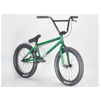 BICICLETA BMX MAFIA BIKES KUSH 2 VERDE SPLATTER 20.4″