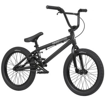 BICICLETA BMX RADIO DICE 18″ NEGRO