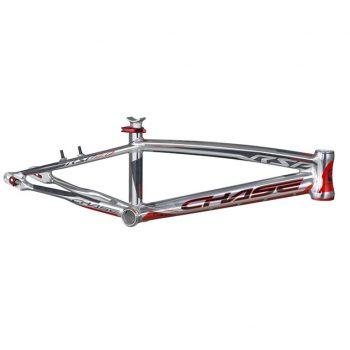 CUADRO BMX CHASE RSP 4.0 PLATA ROJO